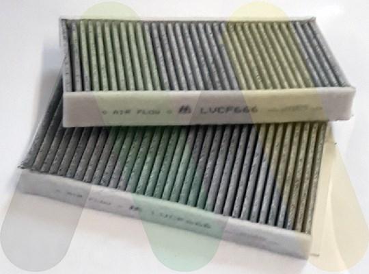 MOTAQUIP LVCF666 Фильтр салона BM X1/X2 F45 (14-) уголь