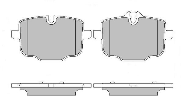 MOTAQUIP LVXL1685 Колодки пер.BM F10/G11 (10-)