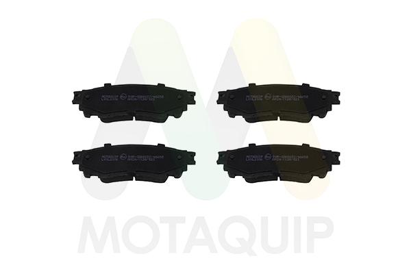 MOTAQUIP LVXL2006 Колодки задн.Toyota C-HR/LEXUS NX 121mm