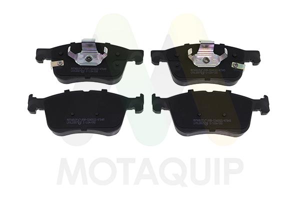 MOTAQUIP LVXL2007 Колодки пер.Ford Focus 16.8mm 18-